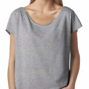 6960 Next Level Ladies' Terry Dolman Tee Thumbnail