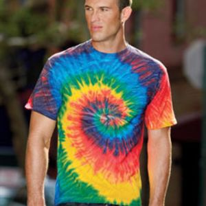 Tie-Dye CD101 Adult 5.4oz. 100% Cotton Spider Tie-Dyed T-Shirt Thumbnail