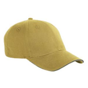 BX004 Big Accessories 6-Panel Twill Sandwich Baseball Cap Thumbnail
