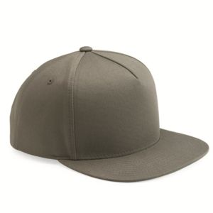 Y6007 - Yupoong Adult 5-Panel Cotton Twill Snapback Cap Thumbnail