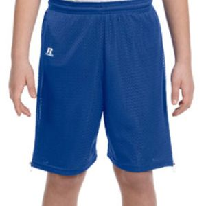 659AFB Russell Athletic Youth Nylon Tricot Mesh Short Thumbnail