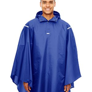 TT71 - Team 365 Adult Zone Protect Packable Poncho Thumbnail