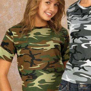Code V 2206 Youth Camouflage T-Shirt Thumbnail