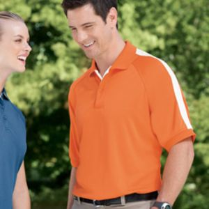 DG375 Devon & Jones Men's Dri-Fast™ Advantage™ Colorblock Mesh Polo Thumbnail